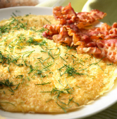 OMELETTE BACON FROMAGE